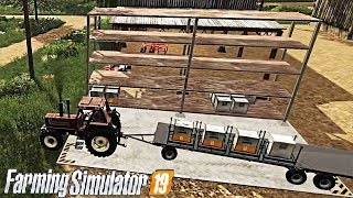 #10 - MOD SCAFFALE CON INTERFACCIA PER PALLET - RUSTIC ACRES - FARMING SIMULATOR 19 ITA