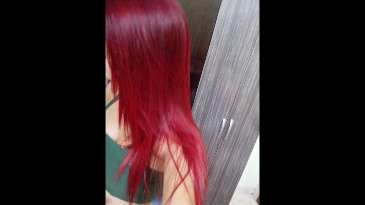 Super Banho de brilho caseiro para cabelos vermelhos - YouTube MW78