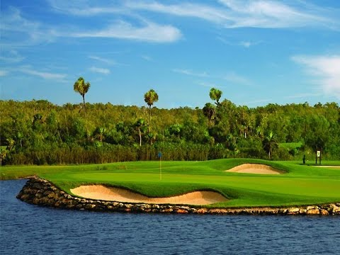 Moon Palace Golf Course Cancun - YouTube on