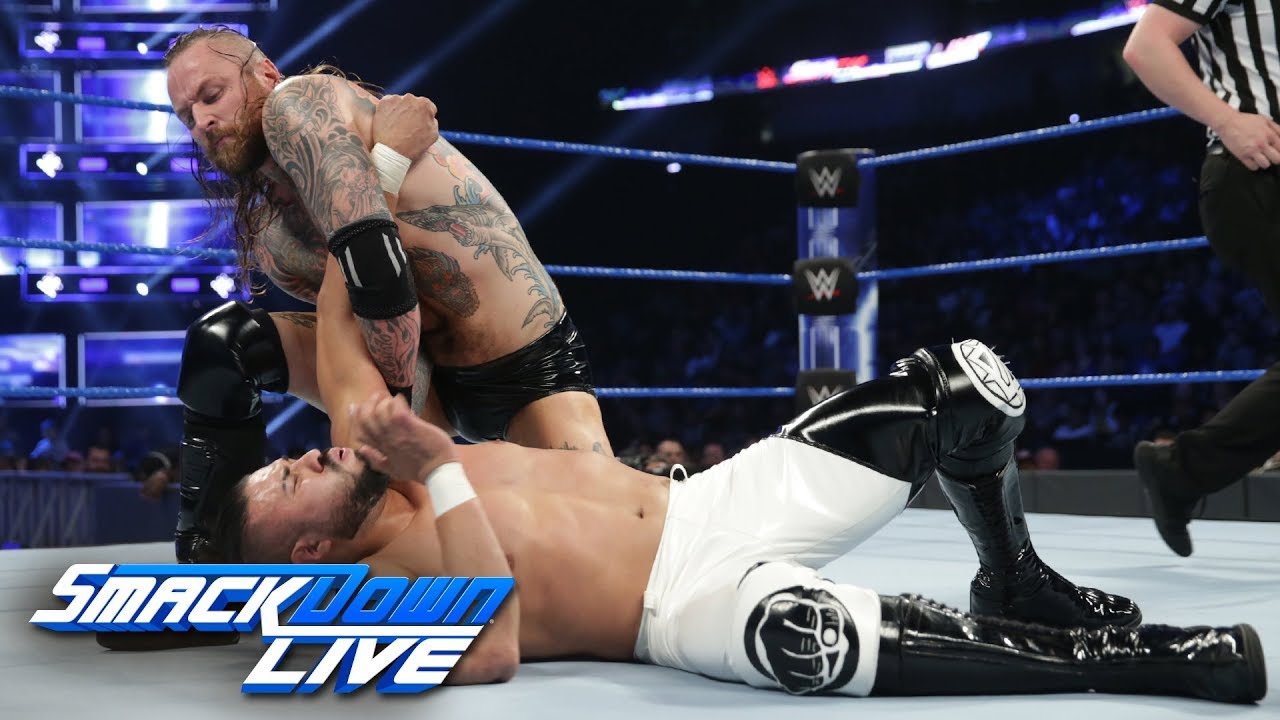 Aleister Black vs. Andrade: SmackDown LIVE, Feb. 19, 2019