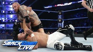 Aleister Black vs. Andrade: SmackDown LIVE, Feb. 19, 2019
