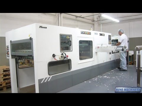 Another successful installation - Royo Machinery Die-Cutter RDC-1060MPB