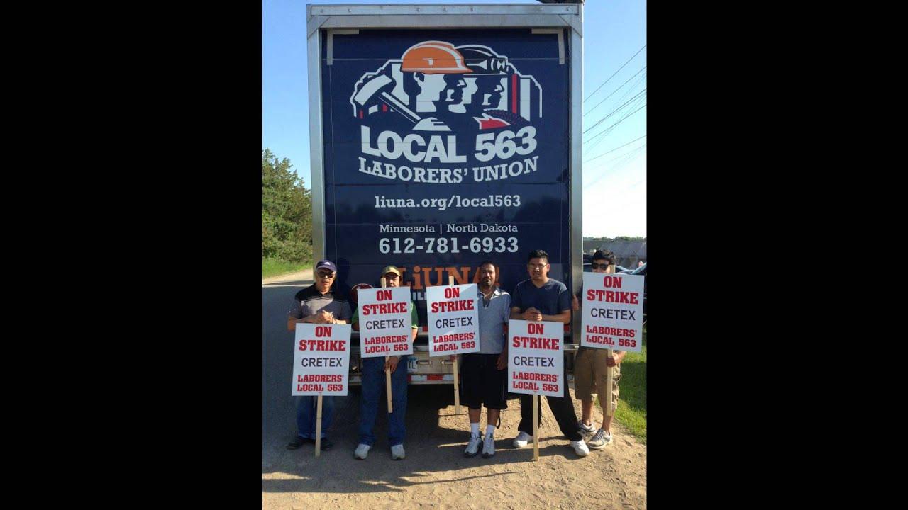 Local 563 on Strike