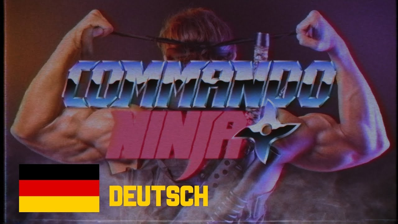 Download COMMANDO NINJA (Ganzer Film) Deutsch - by MECKI & Friends