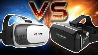 VR BOX 2.0 VS VR SHINECON - Сравнение очков виртуальной реальности