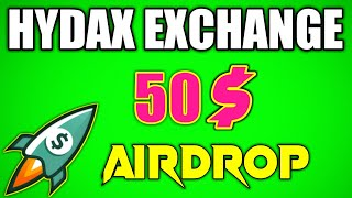 Hydex Exchange Airdrop | Join Fast and Earn More | instant Receive