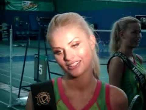 Miss Earth Latvia 2009, Diana Kubasova interviewed by ABS-CBN