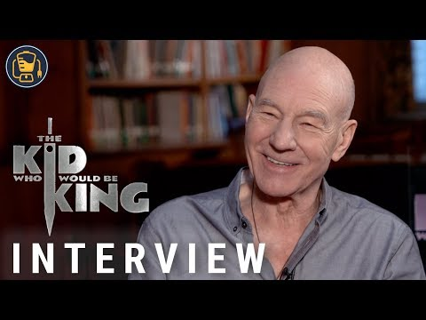 Patrick Stewart And The Kid Who Would Be King Cast On Their Favorite Scenes And More