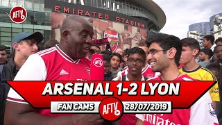Arsenal 1- 2 Lyon | Fans Need To Show Respect To Mustafi!