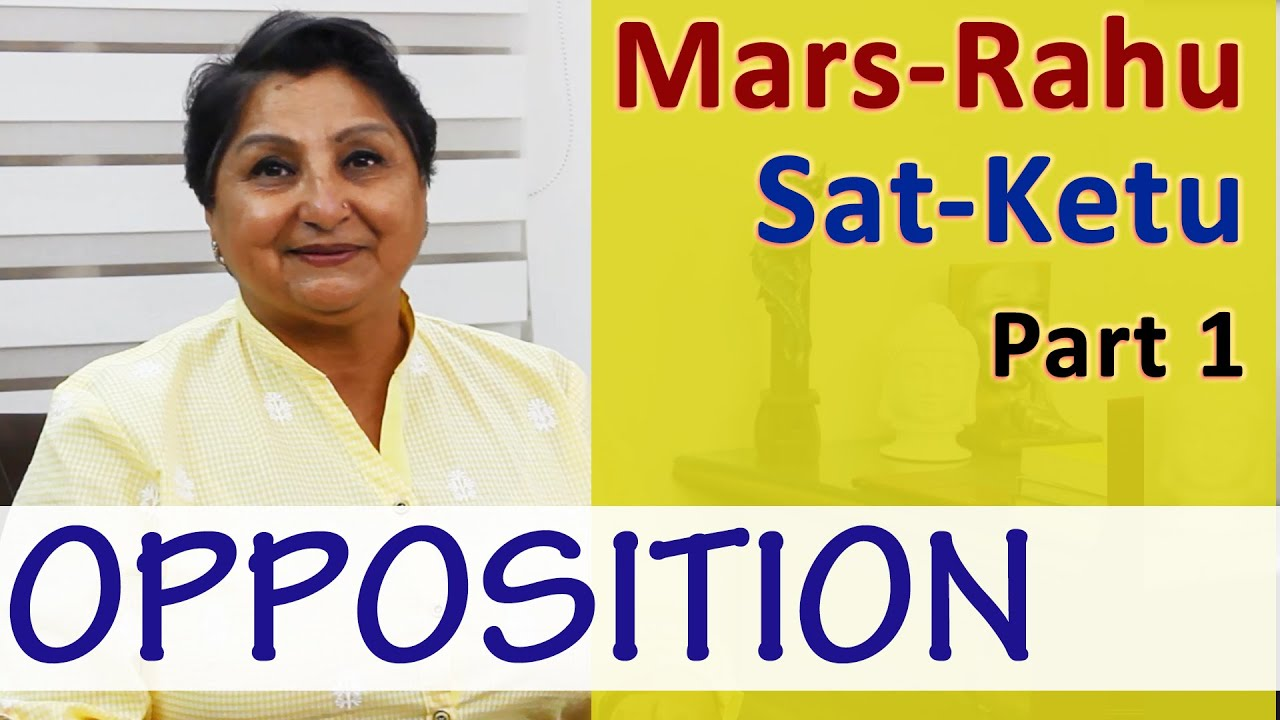 Mars-Rahu And Saturn - Ketu (OPPOSITION) Part 1 - The Tussle Between The  Body And The Soul
