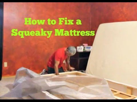 How To Fix A Squeaky Loud And Annoying Mattress Set
