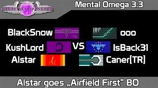 "Mental Omega 3.3 - Alstar goes ""Airfield First"" Build Order #1"