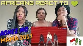 AGNEZ MO PERFORM AT MAMA 2017 REACTION VIDEO BY AGA MP3