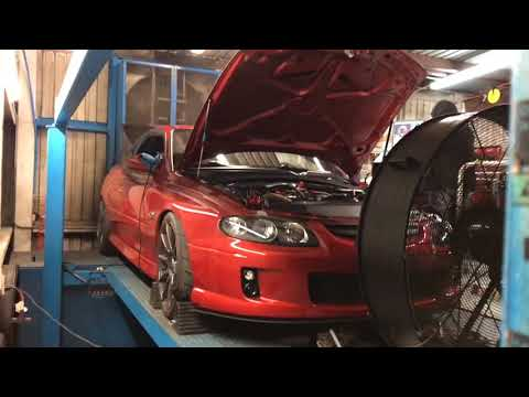Heads/Cammed Twin Turbo GTO Making Dyno Pulls