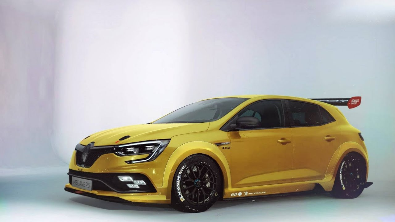 New renault megane rs 2017