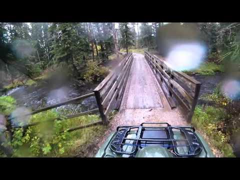 ATV ride in the Black Hills of South Dakota