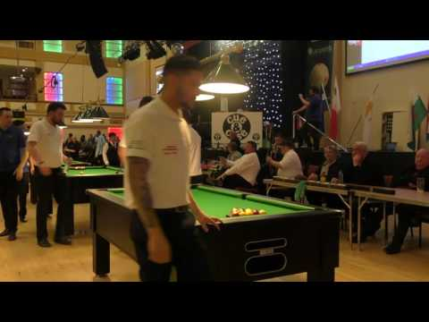2017 - European Blackball Championships - Team Final Mens - England A v Cyprus A