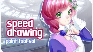 Tekken - Alisa speed drawing