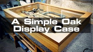 My friends asked me to make a large countertop display case for their store in Dallas. If you