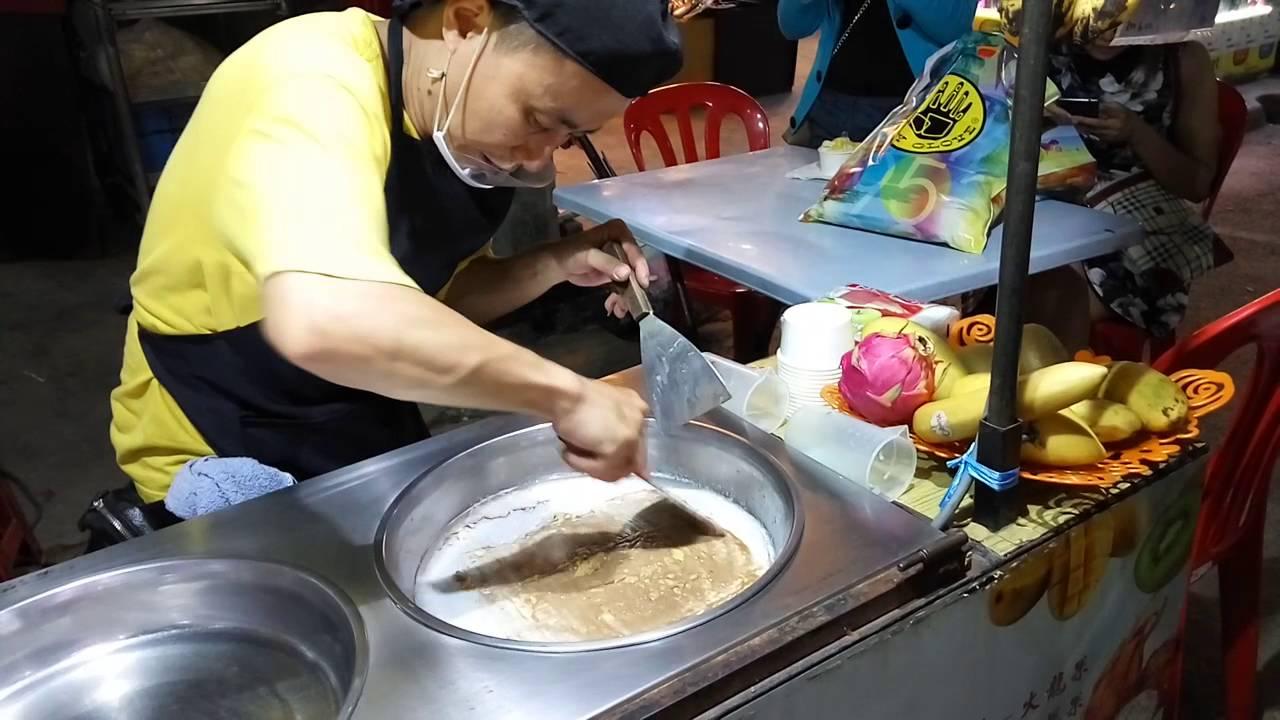 Live ice cream rolls making at jalan alor kuala lumpur youtube live ice cream rolls making at jalan alor kuala lumpur ccuart Images
