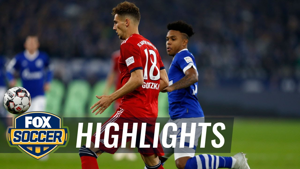 Schalke 04 vs. Bayern Munich | 2018-19 Bundesliga Highlights