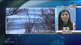 Mau tempo nos Açores provoca danos elevados (video TVI24)