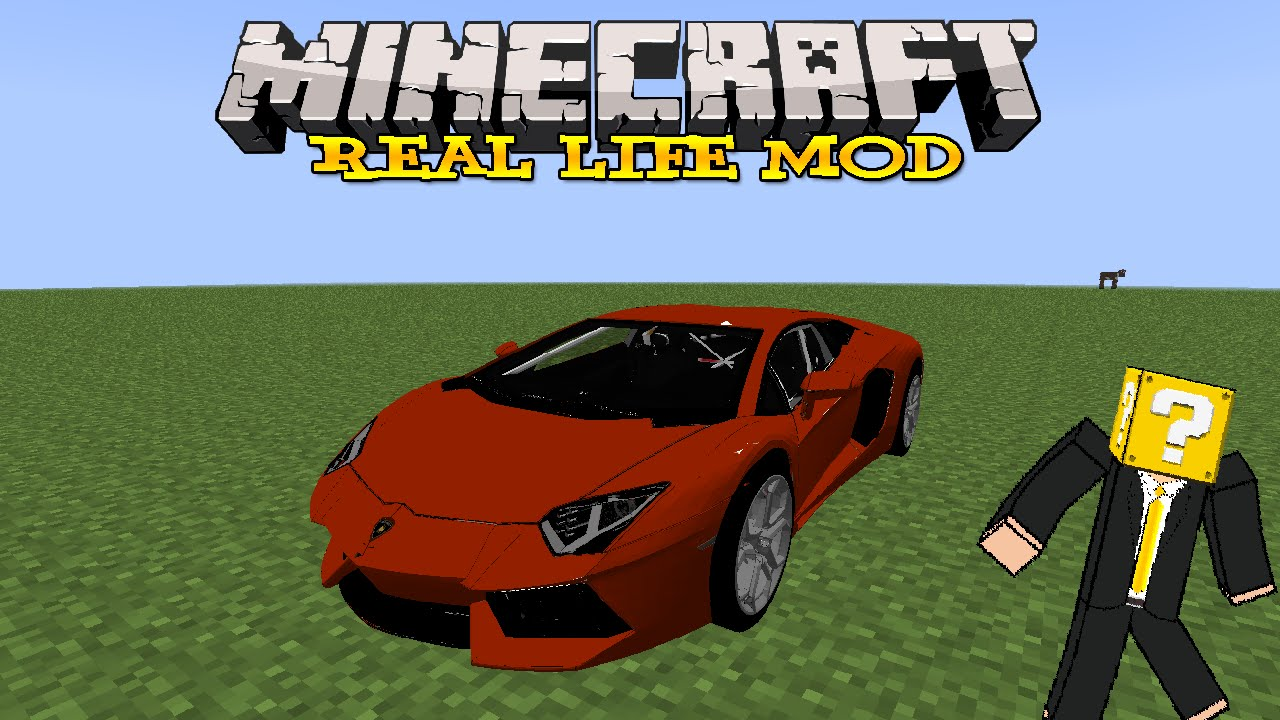 how to download minecraft real life mod