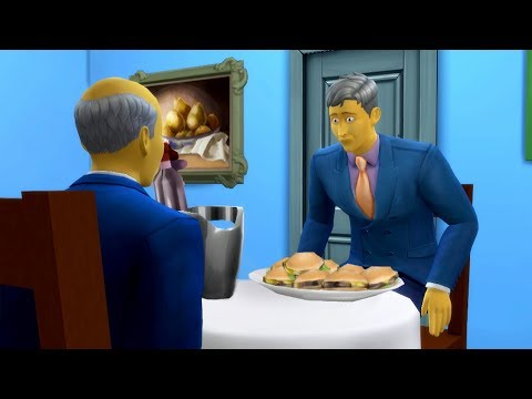 Steamed Hams but it's The Sims 4