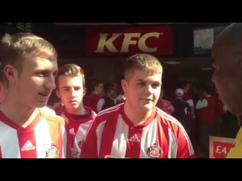 Road Trip To Arsenal Match - Robbie Meets Sunderland Supporters - ArsenalFanTV.com