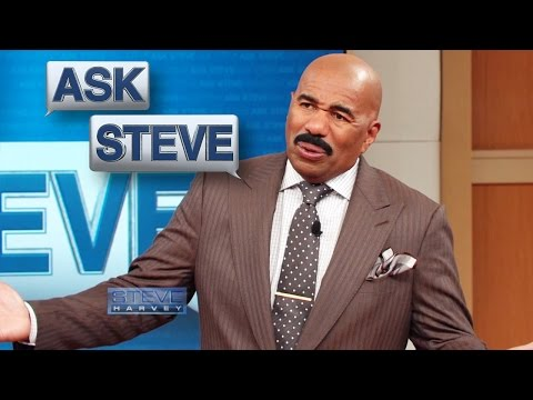 Ask Steve: Who wants wet chicken?! || STEVE HARVEY