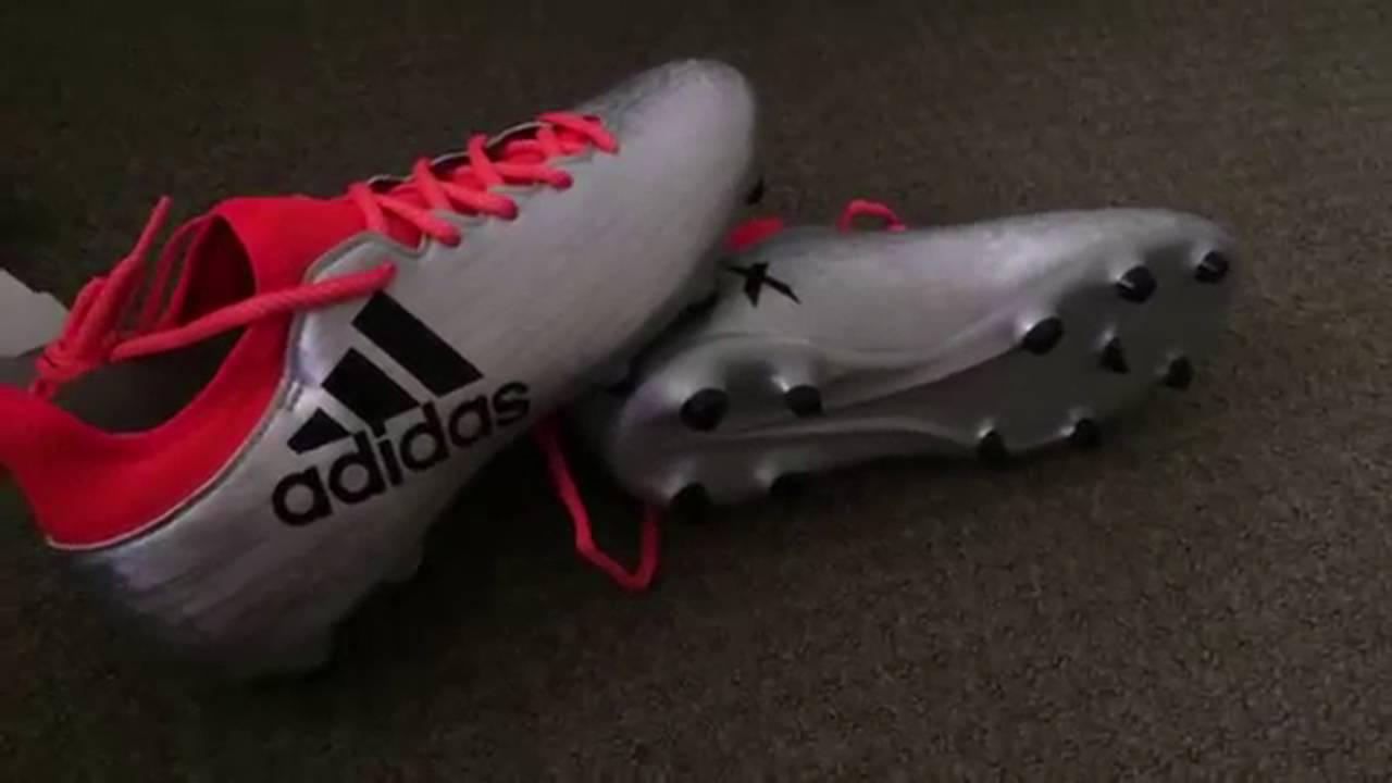 the best attitude 0f012 21f96 Adidas Ace X16.3 Boots Unboxing