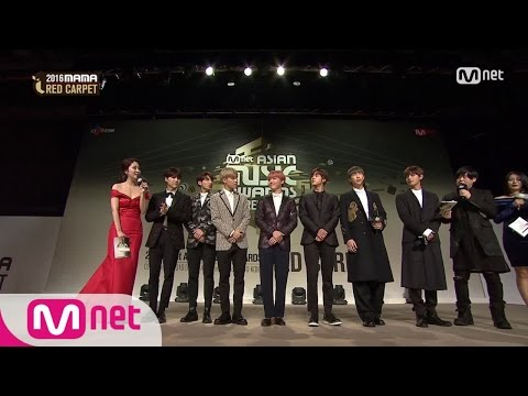[2016 MAMA] Red Carpet BTS(방탄소년단)