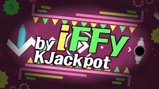 별 붙었습니다! | iFFY - KJackpot 7★ ( 1 coin ) [ 지오메트리 대시 ]