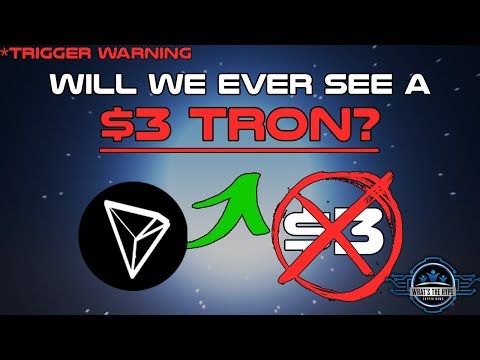 Market Cap & Circulating Supply Explained: Why Tron WON'T Hit $3