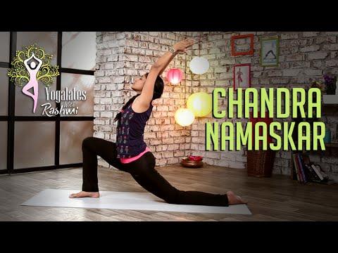 Chandra Namaskar - Step By Step | Moon Salutation  | Yogalates With Rashmi Ramesh | Mind Body Soul