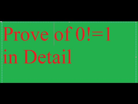 0!=1 prove in detail