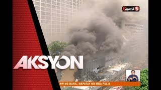 AKSYON PRIME - Sunog sa Manila Pavilion Hotel