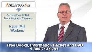 Paper Mill Workers May Be Exposed To Asbestos | Asbestos.net