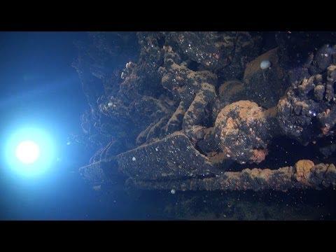 Underwater video of the shipwreck of Rio de Janeiro Maru, at Truk Lagoon