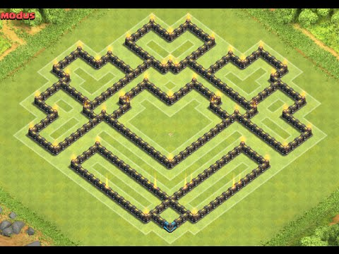 Clash Of Clans Th Trophy Base