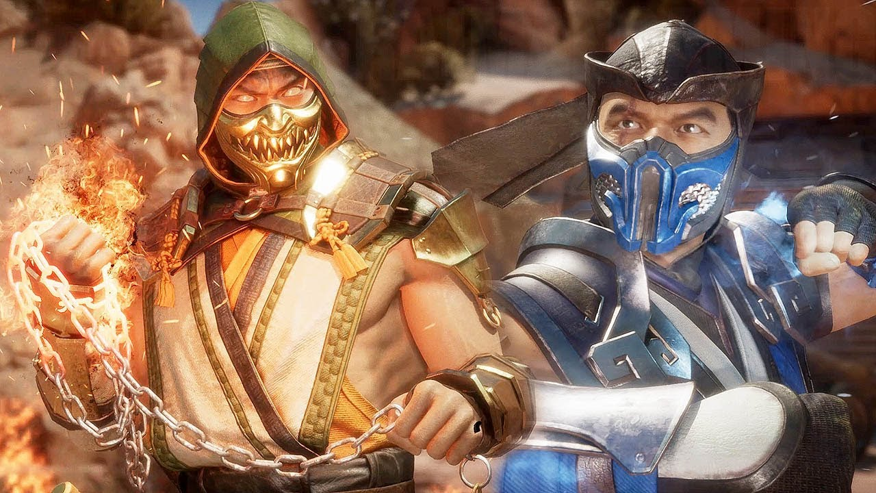 Mortal Kombat 11 Scorpion Vs Sub Zero High Level Gameplay 1 1440p ᴴᴰ Youtube