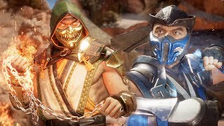 MORTAL KOMBAT 11 - Scorpion vs Sub-Zero High Level Gameplay #1 @ 1440p ᴴᴰ ✔