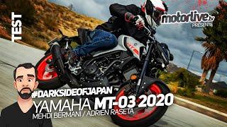 YAMAHA MT-03 2020 : VITAMINÉE ! | TEST MOTORLIVE