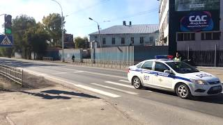 Кортеж экс губернатора Кемеровской области А.Тулеева нарушает  Конституцию РФ и плюет на народ