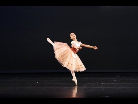 Miko Fogarty, 11,  Gold Medalist at WBC Orlando 2009 - Peasant Variation, Giselle -