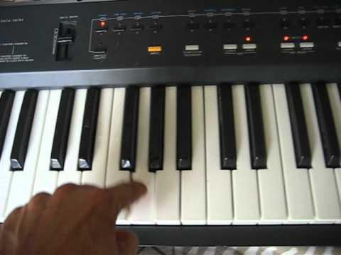 roland a 30 midi keyboard controller youtube. Black Bedroom Furniture Sets. Home Design Ideas
