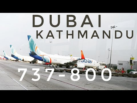 DUBAI TO KATHMANDU I FLY DUBAI ✈ BOEING 737-800 ✈ #flydubai #kathmandulanding #nepal