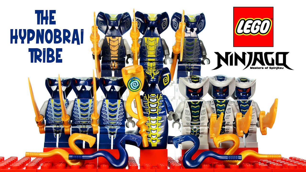 Lego Ninjago Rise Of The Snakes Hypnobrai Tribe Serpentine