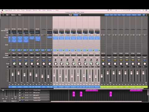 Logic Pro X - #66 - Mixing (part8): Aux Tracks, Busses, Submixes, Submasters
