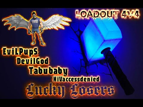 Loadout  4v4 Winter Prized Event - Lucky Losers vs Jimmi and the neutrons 2 game